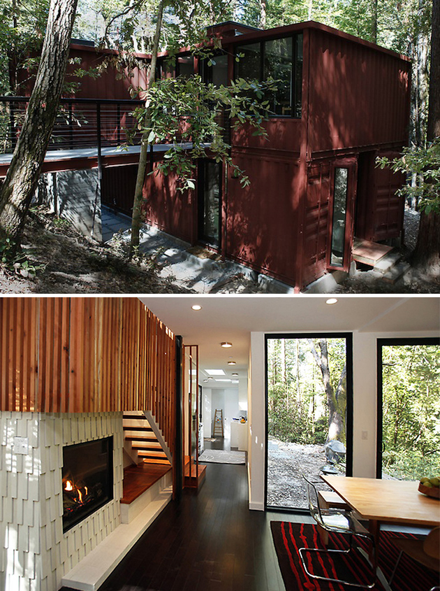 Increible lo que se puede lograr con contenedores taringa - Shipping containers converted into homes ...